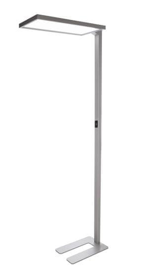 Light Impressions Light Impressions Deko-Light stojací svítidlo Office One 110-240V AC/50-60Hz 80,00 W 4000 K 6500 lm 1950 mm stříbrná 343018