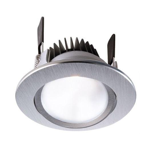 Light Impressions Light Impressions Deko-light stropné vstavané svietidlo COB 68 CCT 24V DC 8,00 W 2500-6500 K 534 lm strieborná 565198