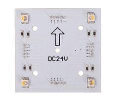 Light Impressions Light Impressions KapegoLED modulárny systém Modular Panel II 2x2 RGB plus 3000K 24V DC 1,80 W 3000 K 50 lm 65 mm 848016