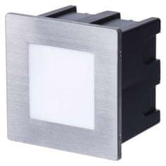 Emos EMOS LED orientační vestavné svítidlo 80×80 1,5W neutr. bílá IP65 1545000110