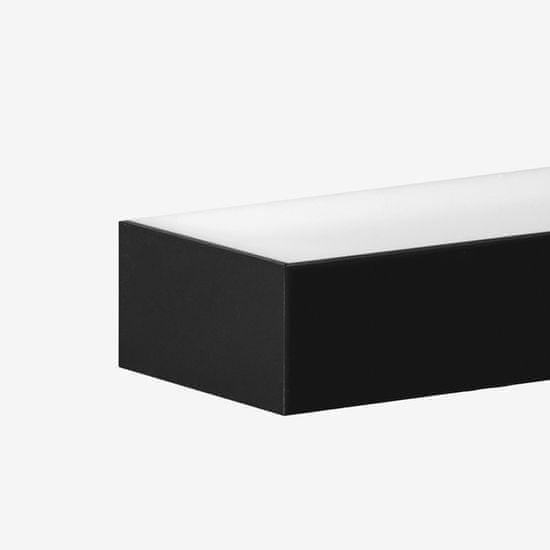 LUCIS LUCIS nástěnné svítidlo IZAR II 24W LED 3000K akrylátové sklo černá I2.L1.900.93