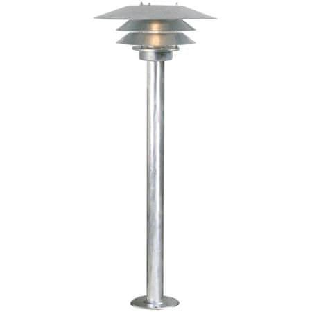 NORDLUX NORDLUX venkovní sloupkové svítidlo Veno galvanizovaná čirá 10600719