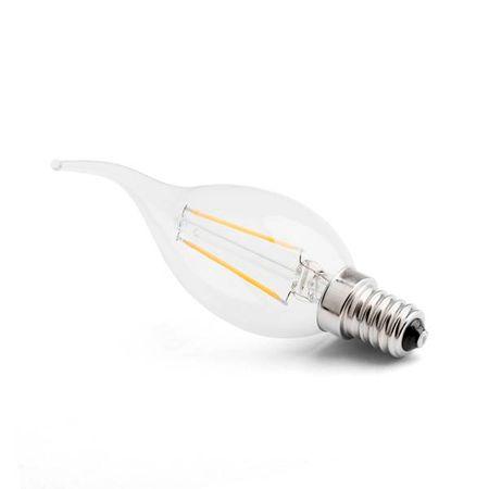 Softled.at LED svíčka E14 1,7W CL B35 2200K Ra90
