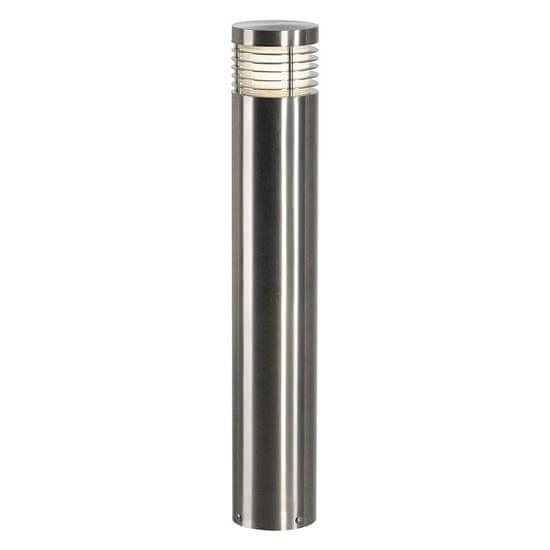 BIG WHITE BIG WHITE VAP SLIM 60, venkovní stojací lampa, TC-TSE, IP44, nerezová ocel kartáčovaná, pr./V 10/60 cm, max. 20W 230066
