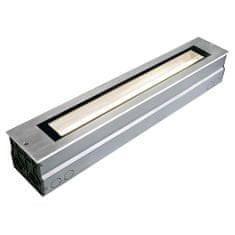 BIG WHITE BIG WHITE DASAR, venkovní zapuštěné podlahové svítidlo, T16 nerezová ocel 316, IP67, úsporná žárovka, 14W 230100