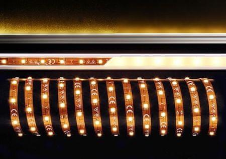 Light Impressions Light Impressions Deko-Light flexibilní LED pásek 5050-30-12V-3000K-5m 12V DC 28,00 W 3000 K 2100 lm 5000 mm 840107