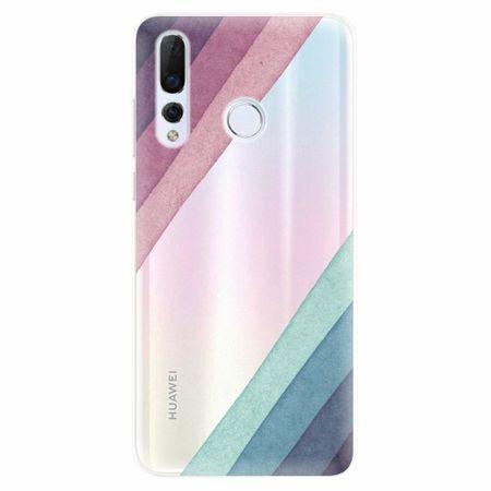 iSaprio Silikonové pouzdro - Glitter Stripes 01 - Huawei Nova 4