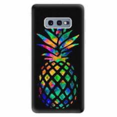 iSaprio Silikonové pouzdro - Rainbow Pineapple - Samsung Galaxy S10e