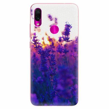 iSaprio Silikonové pouzdro - Lavender Field - Xiaomi Redmi Note 7