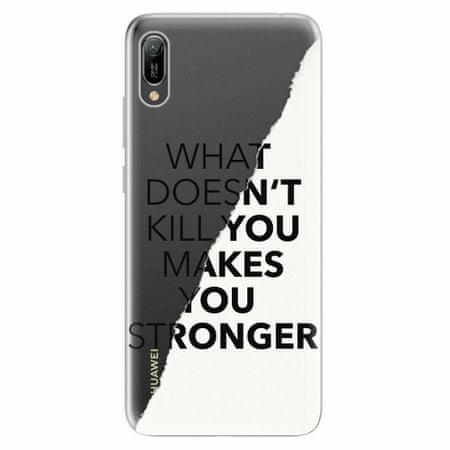 iSaprio Silikonové pouzdro - Makes You Stronger - Huawei Y6 2019