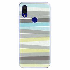 iSaprio Silikonové pouzdro - Stripes - Xiaomi Redmi 7