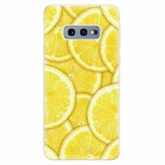 iSaprio Silikonové pouzdro - Yellow - Samsung Galaxy S10e