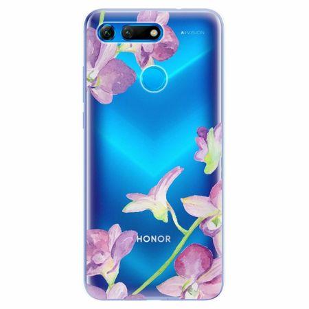 iSaprio Silikonové pouzdro - Purple Orchid - Huawei Honor View 20