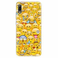 iSaprio Silikonové pouzdro - Emoji - Huawei Y6 2019