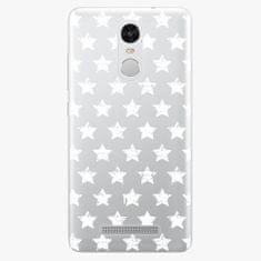 iSaprio Plastový kryt - Stars Pattern - white - Xiaomi Redmi Note 3 Pro