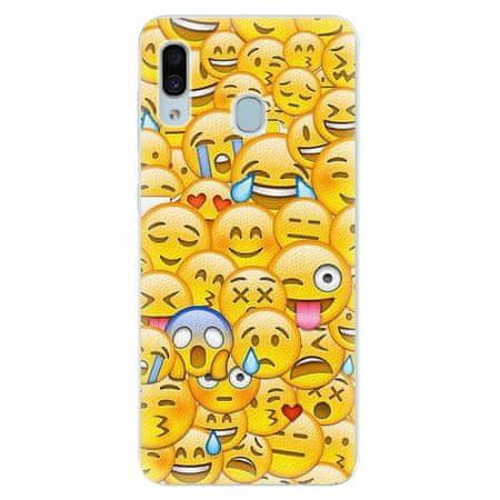 iSaprio Silikonové pouzdro - Emoji - Samsung Galaxy A30