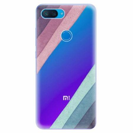 iSaprio Silikonové pouzdro - Glitter Stripes 01 - Xiaomi Mi 8 Lite