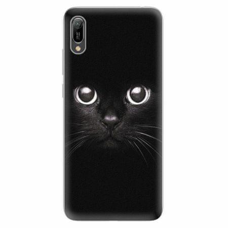 iSaprio Silikonové pouzdro - Black Cat - Huawei Y6 2019
