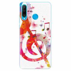 iSaprio Silikonové pouzdro - Love Music - Huawei P30 Lite