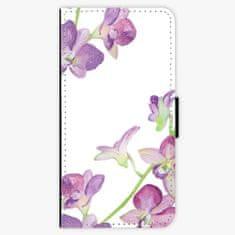 iSaprio Flipové pouzdro - Purple Orchid - iPhone 5/5S/SE