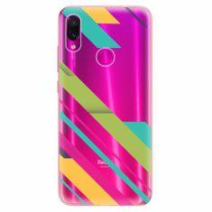 iSaprio Silikonové pouzdro - Color Stripes 03 - Xiaomi Redmi Note 7