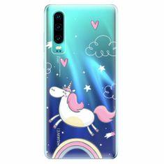 iSaprio Silikonové pouzdro - Unicorn 01 - Huawei P30