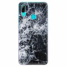 iSaprio Silikonové pouzdro - Cracked - Huawei P Smart 2019