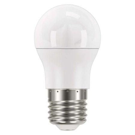 Emos sijalka LED Classic Mini Globe, 8W E27, toplo bela