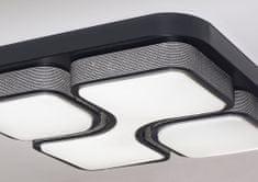 Bruxxi Stropní svítidlo Geometric, 53 cm, černá