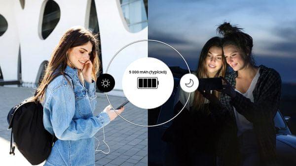 Samsung Galaxy M20, velkokapacitní baterie, dlouhá výdrž baterie, rychlé nabíjení