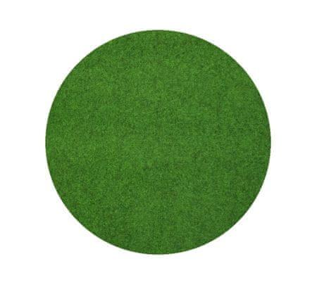 Spoltex Travní koberec pod bazén Sporting s nopy KRUH (vhodný jako bazénová podložka) 130x130 (průměr) kruh