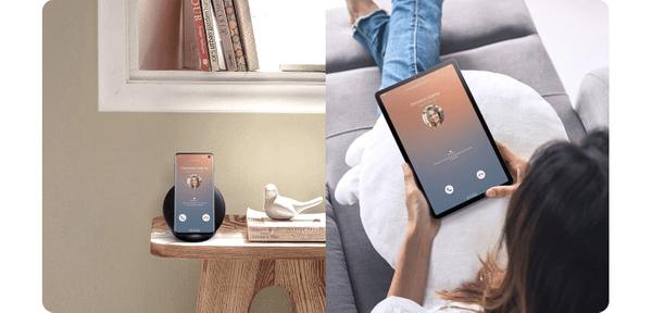 Samsung Galaxy Tab S6, synchronizácia s telefónom