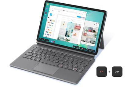 Samsung Galaxy Tab S6, prenosná klávesnica, HDMI port, pripojenie monitora