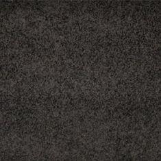 Vopi Kusový černý koberec Color Shaggy čtverec