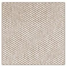 Vopi Kusový koberec Nature světle béžový čtverec