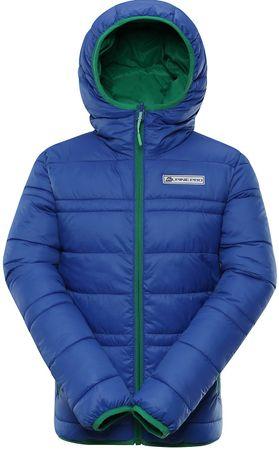 ALPINE PRO detská obojstranná bunda SELMO 140 - 146 viacfarebná
