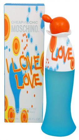 Moschino Cheap & Chic I Love Love toaletna voda, 100ml