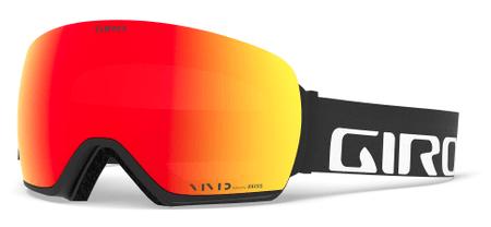 Giro skijaške naočale Article Black Wordmark Vivid Ember/Vivid Infrared (2 stakla)
