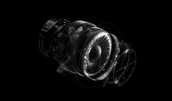 Logitech G Pro X, čistý zvuk 50mm meniče, izolujú ruchy, vyladený zvuk