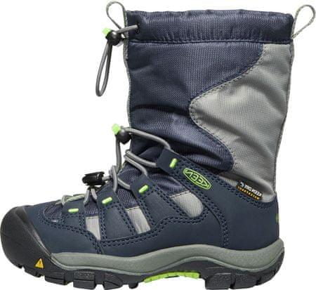 KEEN dětská zimní trekingová obuv WINTERPORT C 24 tmavě modrá