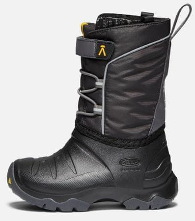 KEEN otroški zimski treking čevlji LUMI BOOT WP C, 24, črni