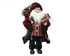 Kaemingk Santa, 20 x 10 x 30 cm, červený