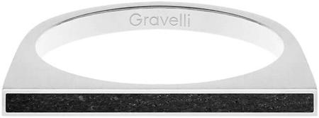 Gravelli Jekleni obroč z betonom Enostransko jeklo / antracit GJRWSSA121 (Vezje 53 mm)