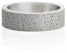 Gravelli Betónový prsteň šedý Simple GJRWRGA001