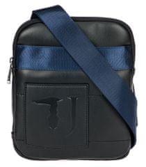 Trussardi Jeans pánska čierna crossbody taška 71B00133-9Y099997