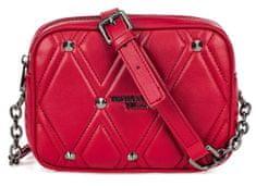 Trussardi Jeans 75B00795-9Y099998 ženska crossbody torbica, rdeča
