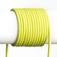 RED Design Rendl RENDL FIT 3X0,75 1bm textilní kabel limetková R12225