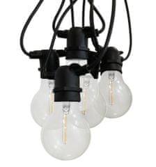 Century CENTURY LED FIESTA Světelný řetěz s 10 LED žárovkami čiré 6W E27 2200K 500Lm IP44