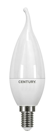 Century CENTURY LED ECOLINE SVÍČKA PLAMEN 3W E14 3000K 250Lm 180d 37x100mm IP20 CEN ELM1C-031430BL