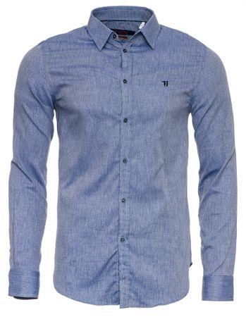 Trussardi Jeans 52C00108-1T003099 moška srajca, 40, modra